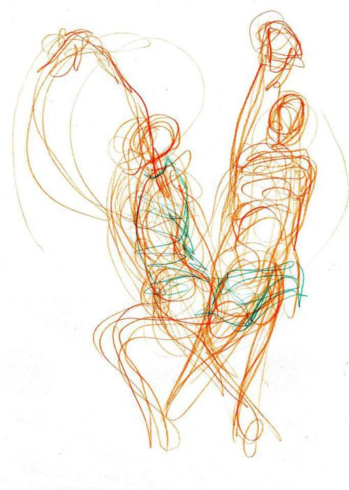 Gesture Sketch by Salgood Sam