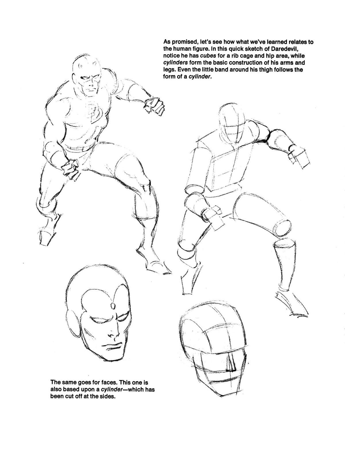 "From ""How To Draw Comics The Marvel Way"""